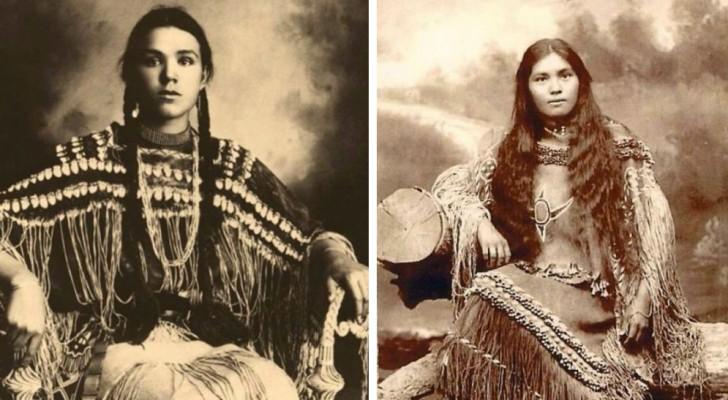 La bellezza delle Native Americane fotografate alla fine dell'800 prima del genocidio