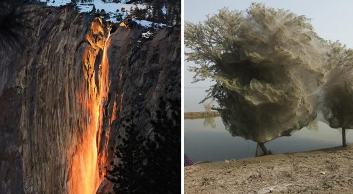 16 phénomènes spectaculaires créés par Mère Nature que vous ne connaissiez probablement pas...