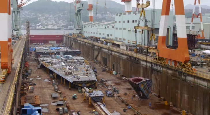 Comment prend vie un navire de 600 millions d'euros? Cette vidéo fascinante vous le révèle