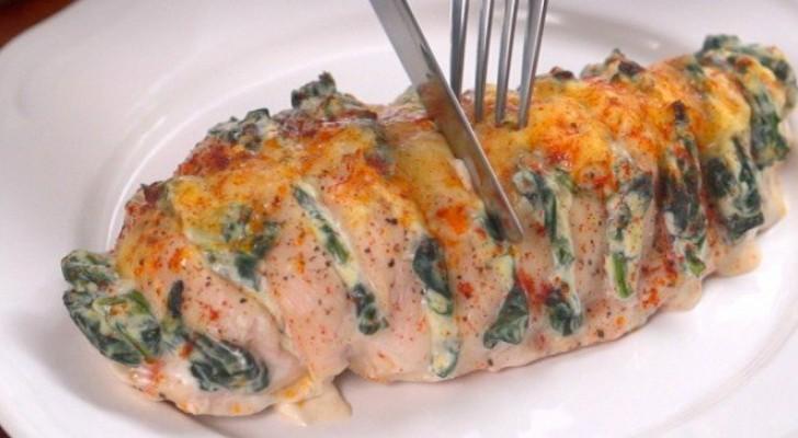 Uma receita simples de como preparar o frango hasselback: impossível resistir!