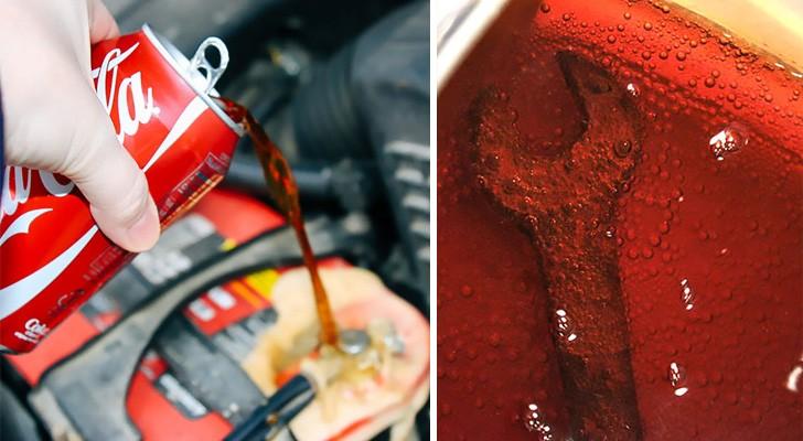15 cose utili e inaspettate che puoi fare con la coca cola... oltre che berla!