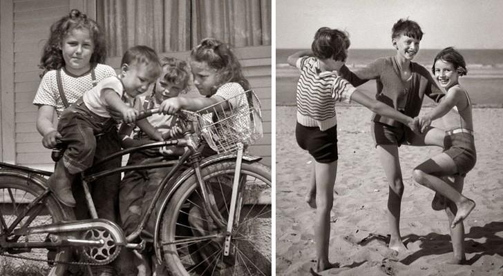 L'enfance avant l'arrivée de la technologie: 25 photos qui vous feront rêver