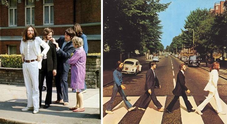 7 foto scattate pochi attimi prima di altre 7 immagini che sono passate alla storia