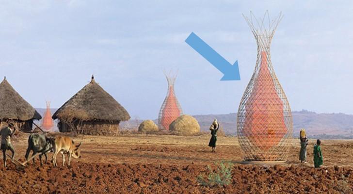 Het haalt 100 liter water per dag op: zie hier het briljante idee van een Italiaanse architect
