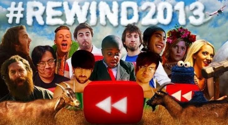 YouTube Rewind: I successi del 2013
