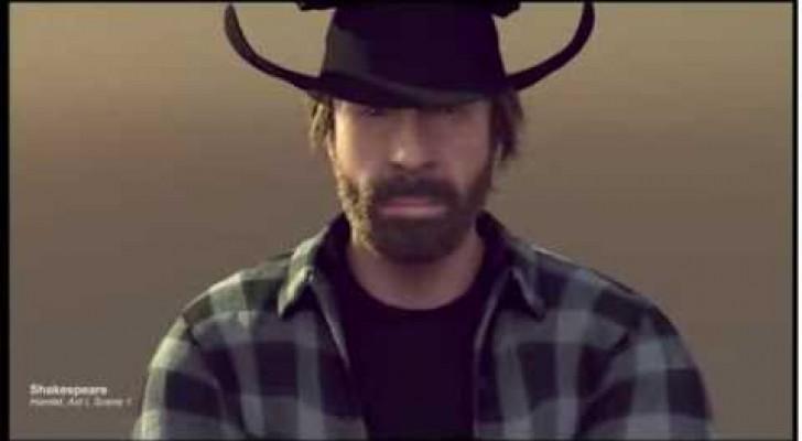 Parodia Van Damme - Chuck Norris