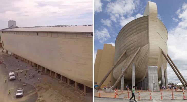 Sie bauen die Arche Noah nach biblischen Fakten nach: Das Resultat ist episch