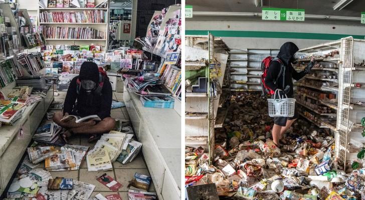 Ein Mann schleicht sich in die verbotene Zone von Fukushima: Hier die Schnappschüsse einer verlassenen Stadt