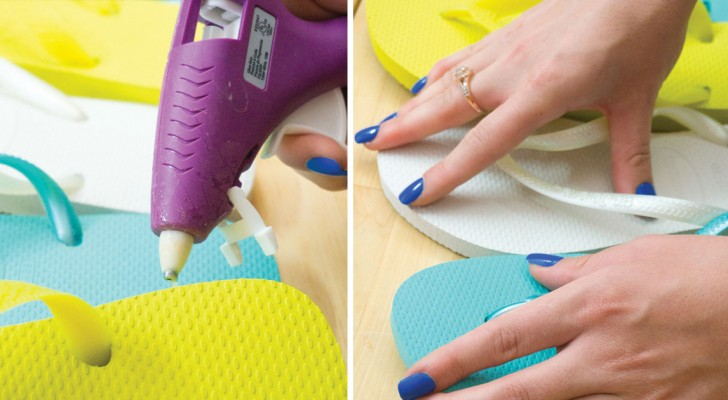 Clever ideas to upcycle your flip-flops!