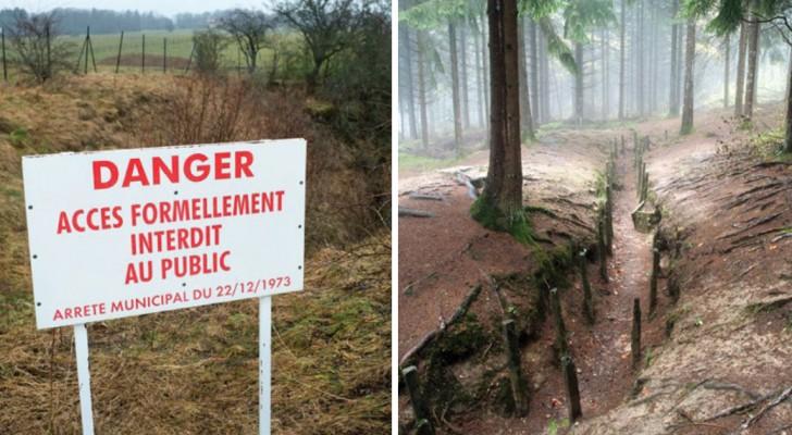 La zone rouge française, un lieu quasi inconnu dont l'accès est interdit depuis un siècle