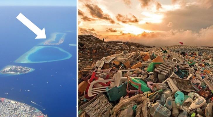 Una gigantesca discarica nel bel mezzo del paradiso: ecco il lato oscuro delle Maldive... e del turismo