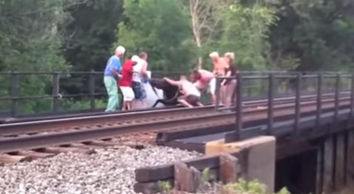 Ze zagen iets bewegen op de rails: teamwork is van uiterst belang hier!