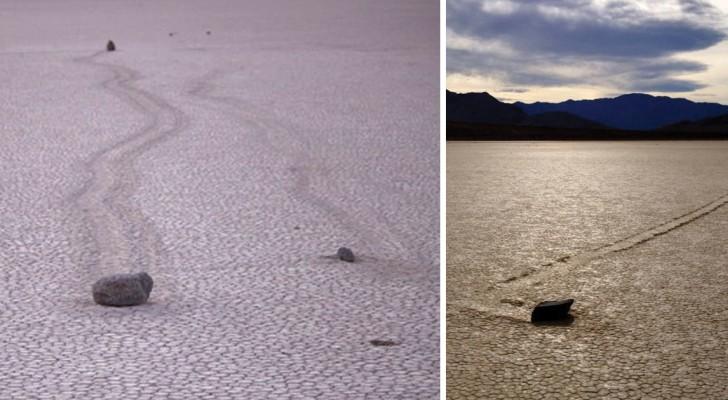 Hoe Komt Het Dat Deze Mysterieuze Stenen Zich 'Verplaatsen' In De Death Valley?