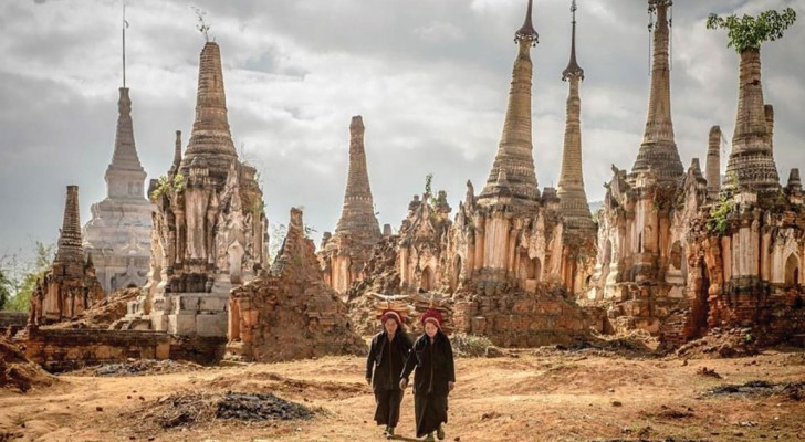 Découvrez ce joyau bouddhiste caché au beau milieu de la jungle