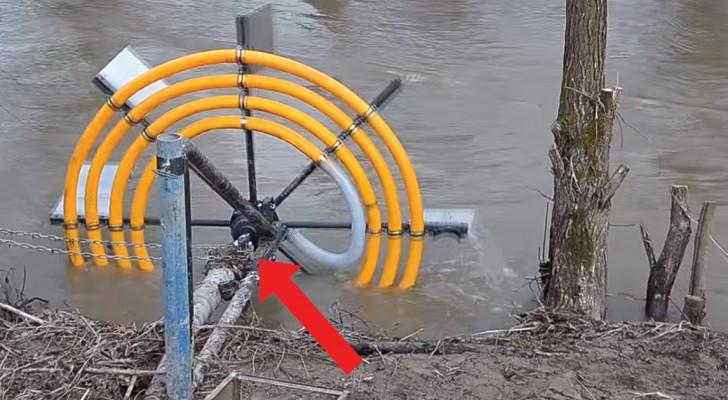 Bomba de agua casera sin motor