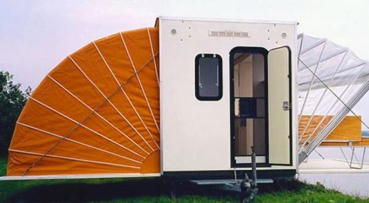 De Markies, le curieux et futuriste camping-car extensible, œuvre d'un architecte néerlandais