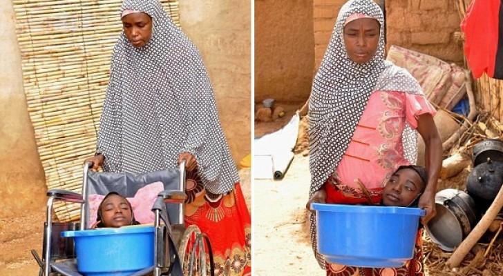 Den här tjejen har levt hela sitt liv i en plastbalja: hennes tillstånd är en gåta