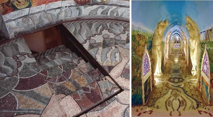Une cathédrale souterraine ésotérique sculptée et décorée à la main : un bijou dans les collines du Piémont.