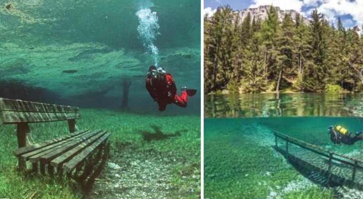 In inverno si passeggia, in estate si nuota: ecco il lago che si riempie solo per 4 mesi all'anno