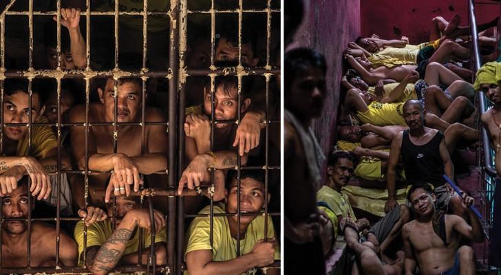Entriamo dentro l'inferno di Quezon, la prigione più affollata del mondo