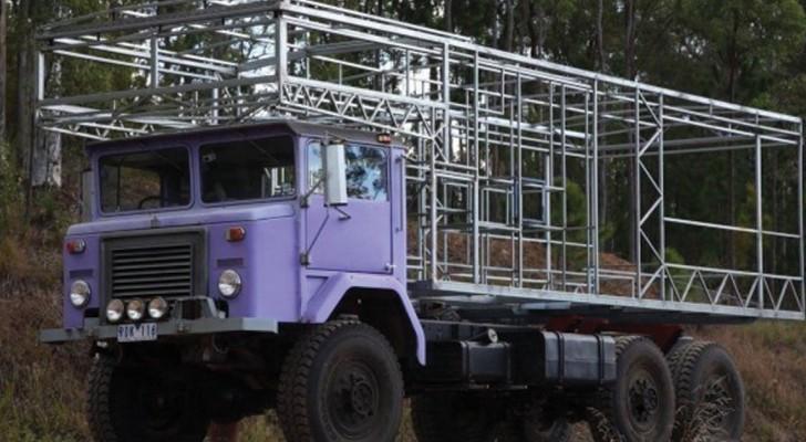 Il décide de transformer son camion en une maison : le résultat final vous fera envie