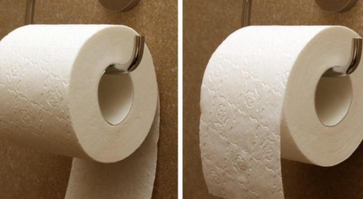 De juiste kant van het toiletpapier wijst richting het toilet en niet naar de muur: de uitvinder legt het ons uit