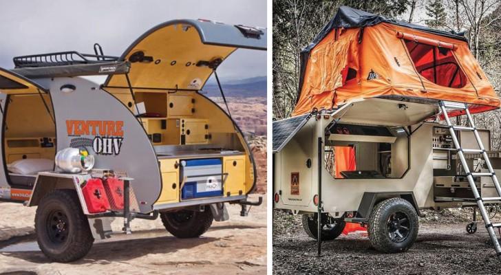 Viaggi on the road: ecco a voi 5 pazzeschi mini-caravan per veri amanti dell'avventura
