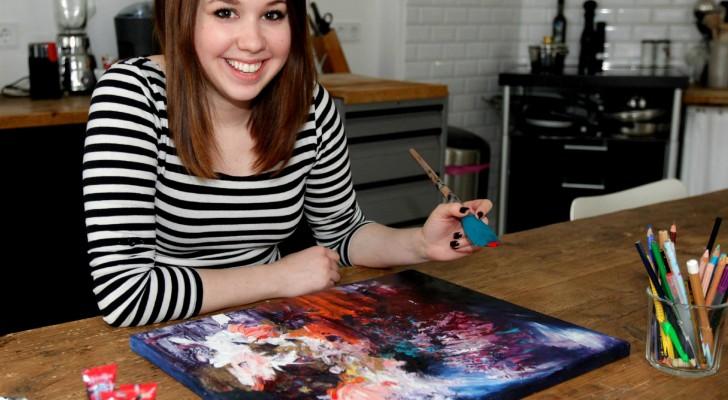 Vede la musica materializzarsi in colori: ecco la ragazza che ha trasformato una patologia in un dono
