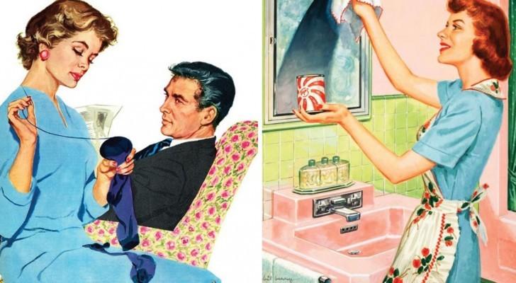 Ecco le regole che una donna doveva seguire nel 1955 per essere una buona moglie