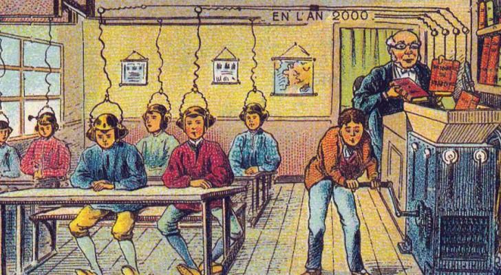 Ils demandent à quelques illustrateurs du début du 20e siècle d'imaginer l'homme des années 2000: le résultat est fascinant!