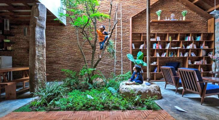 Desidera ritrovare il contatto con la natura: i nipoti architetti realizzano per lui un paradiso