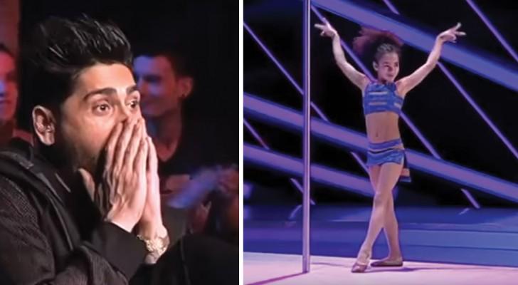 8 anos e uma performance diferente: as acrobacias desta menina deixam de boca aberta!
