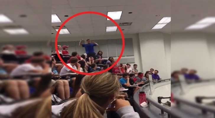 If you make the shot everyone passes the test! --- his professor challenges him!